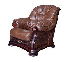 "Кресло кожаное ""Bordaeux"" (Бордо), фото 3"