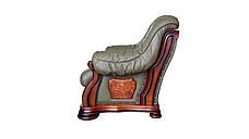 "Кресло кожаное ""Bordaeux"" (Бордо), фото 2"