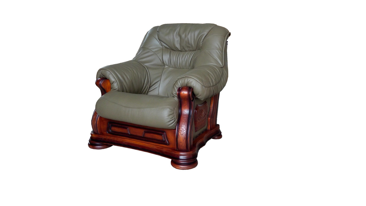 "Кресло кожаное ""Bordaeux"" (Бордо)"