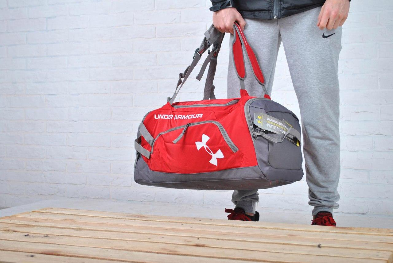 89d0f7668c29 Спортивная Дорожная сумка/рюкзак under armour, красная: 920 грн ...