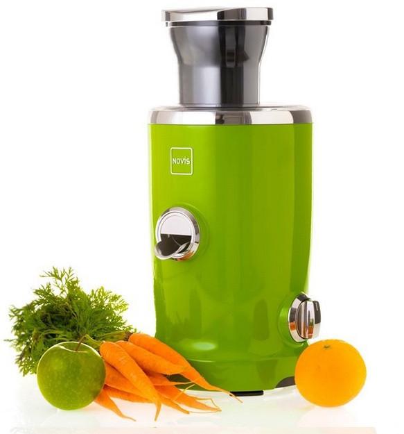 Универсальная соковыжималка Novis Vita Juicer, зеленая