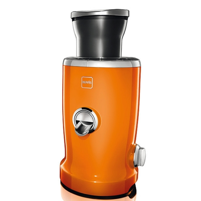 Универсальная соковыжималка Novis Vita Juicer, оранжевая