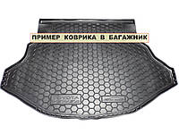 Полиуретановый коврик для багажника Skoda Fabia Универсал с 2007-