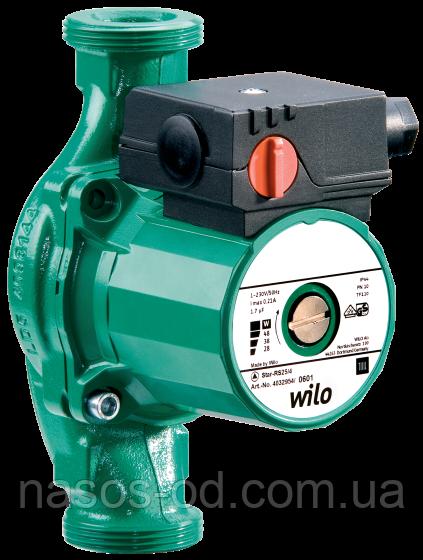 """Циркуляционный насос WILO 25-7-180 для системы отопления Ø1½"""" 180мм для системы отопления+гайки (874207)"""