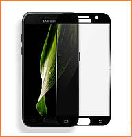 Защитное стекло 3D для Samsung Galaxy S6 SM-G920 Black (Screen Protector 0,3 мм)