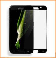 Защитное стекло 3D Full Cover для Samsung Galaxy S6 SM-G920 Black (Screen Protector 0,3 мм)