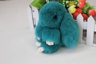 Заяц-брелок Бирюзовый