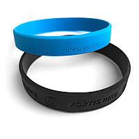 Силиконовые браслеты с тиснением/выдавливанием от 100 шт