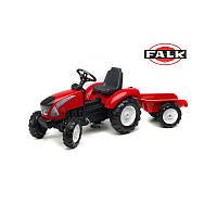 Трактор педальный со съемным прицепом Garden Master FALK -3021AB