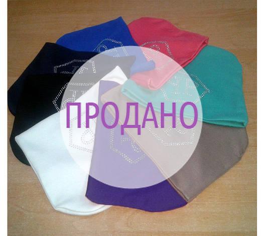 """Женская шапка """"Philipp Plein"""" стразы"""