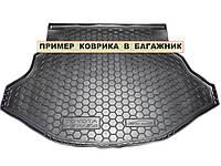 Полиуретановый коврик для багажника Skoda Octavia A7 (универсал) (с боксом усилит.) с 2013-
