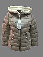 Модная женская куртка зима на холофабер опт