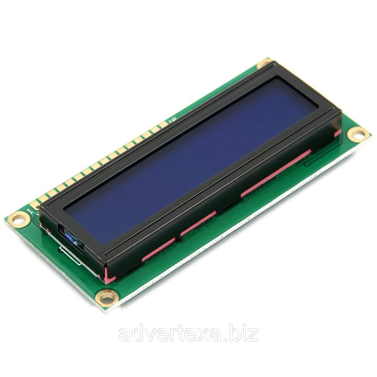 ЖКИ модуль LCD 1602 дисплей для Arduino 16х2 синий