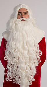 Волосы  Деда Мороза комплект