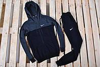 Мужской спортивный костюм на флисе Nike (найк), теплый