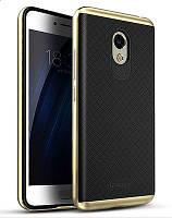 Чехол, бампер iPaky для смартфона Meizu M3S (GOLD)