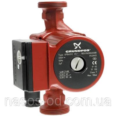 Циркуляционный насос Grundfos 25-6-180 для системы отопления (874306)