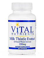 Milk Thistle Extract (Ethanol/Water Extract) 250 mg, 60 Capsules, фото 1