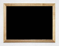 Доска меловая в широкой деревянной раме (ясень) 60x90 (A1) Тетрис