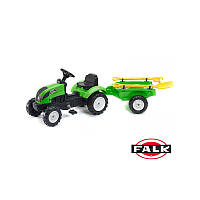 Детский трактор на педалях Falk 2057G GARDEN MASTER