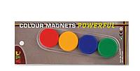 Набор магнитов, диам. - 32 мм, 4 шт., блистер