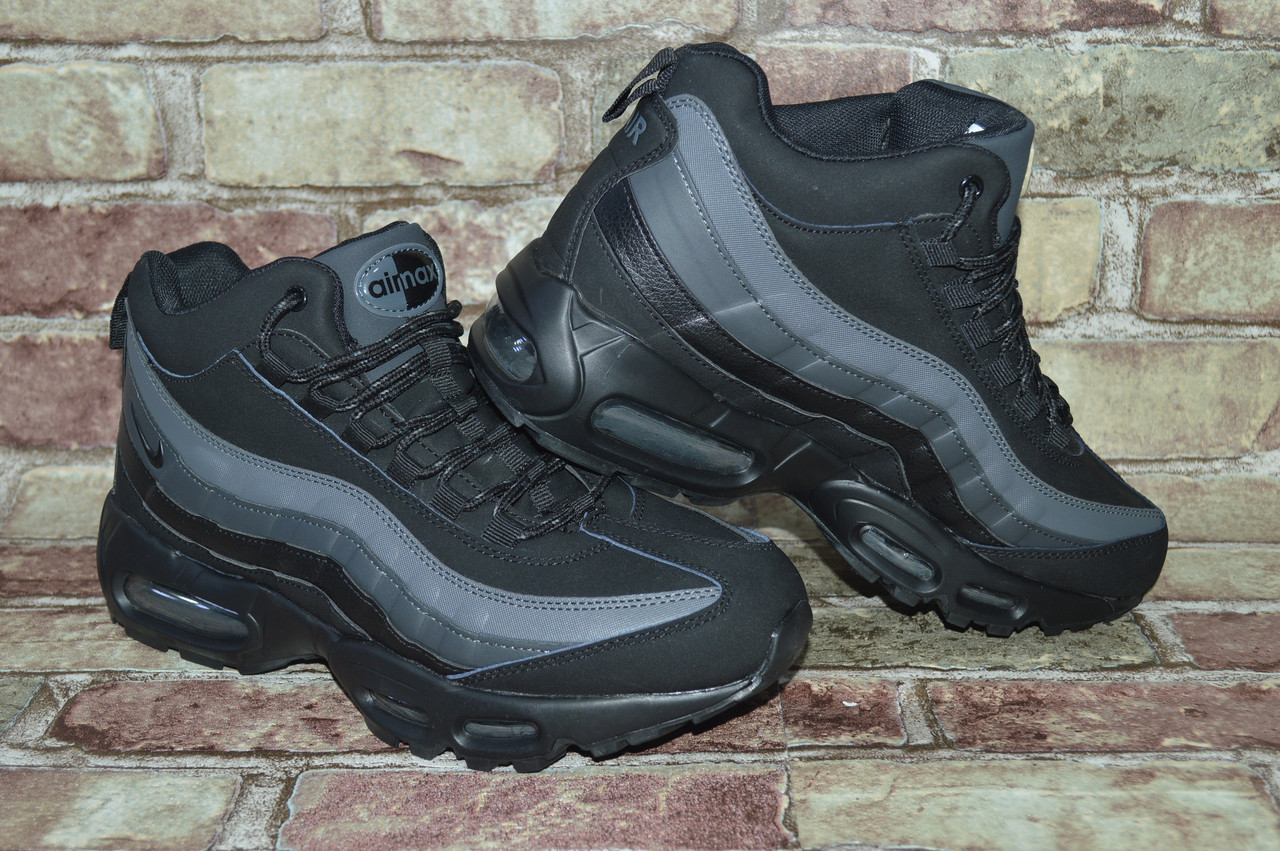 Мужские зимние кроссовки Nike Air Max 95 Sneakerboot Найк  продажа ... 9df844d082f