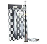 Електронна сигарета Evod Twist 3 Aerotank M16 1600мач EC-022 Micro-USB ЧОРНО-СІРА SKU0000864