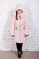 Нежное зимнее пальто для девочек от производителя - (модель рк-27)