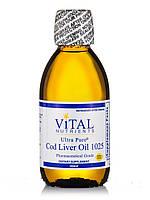 Ultra Pure Cod Liver Oil 1025, Lemon Flavor, 200 ml, фото 1