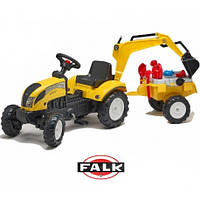 Трактор Педальный с Прицепом и Ковшом Falk 2055N