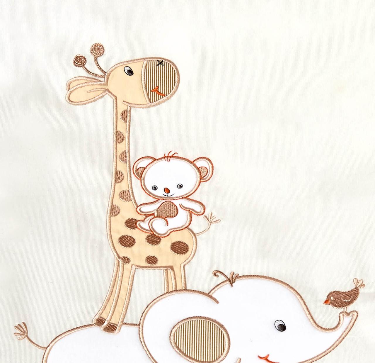 Комплект постельного белья Italy cotton Жираф 6 пр