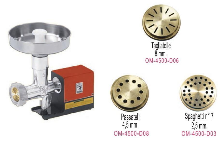NEW OMRA  OM-4500 профессиональный макаронный пресс итальянский