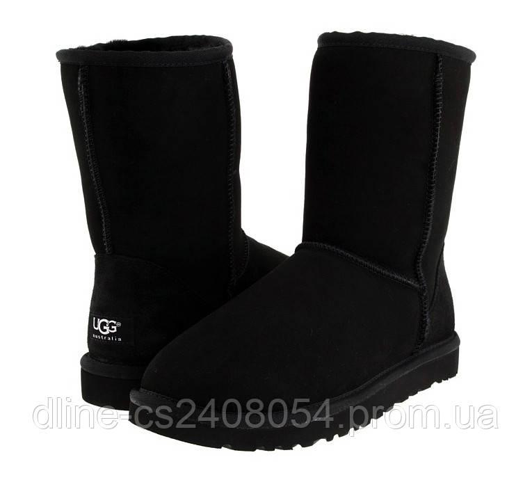 UGG Baby Classic Short Черные