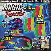 Гоночная трасса Magic Tracks на 220 деталей