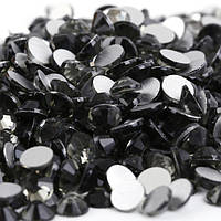 Стразы SS16 Black Diamond (серый) холодной фиксации. Цена за 144 шт