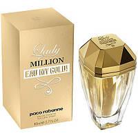 Paco Rabanne Lady Million Eau My Gold EDT 80ml (копия)
