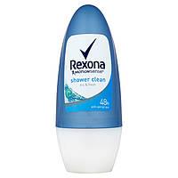 Антиперспирант роликовый Rexona shower clean 48hr 50 ml
