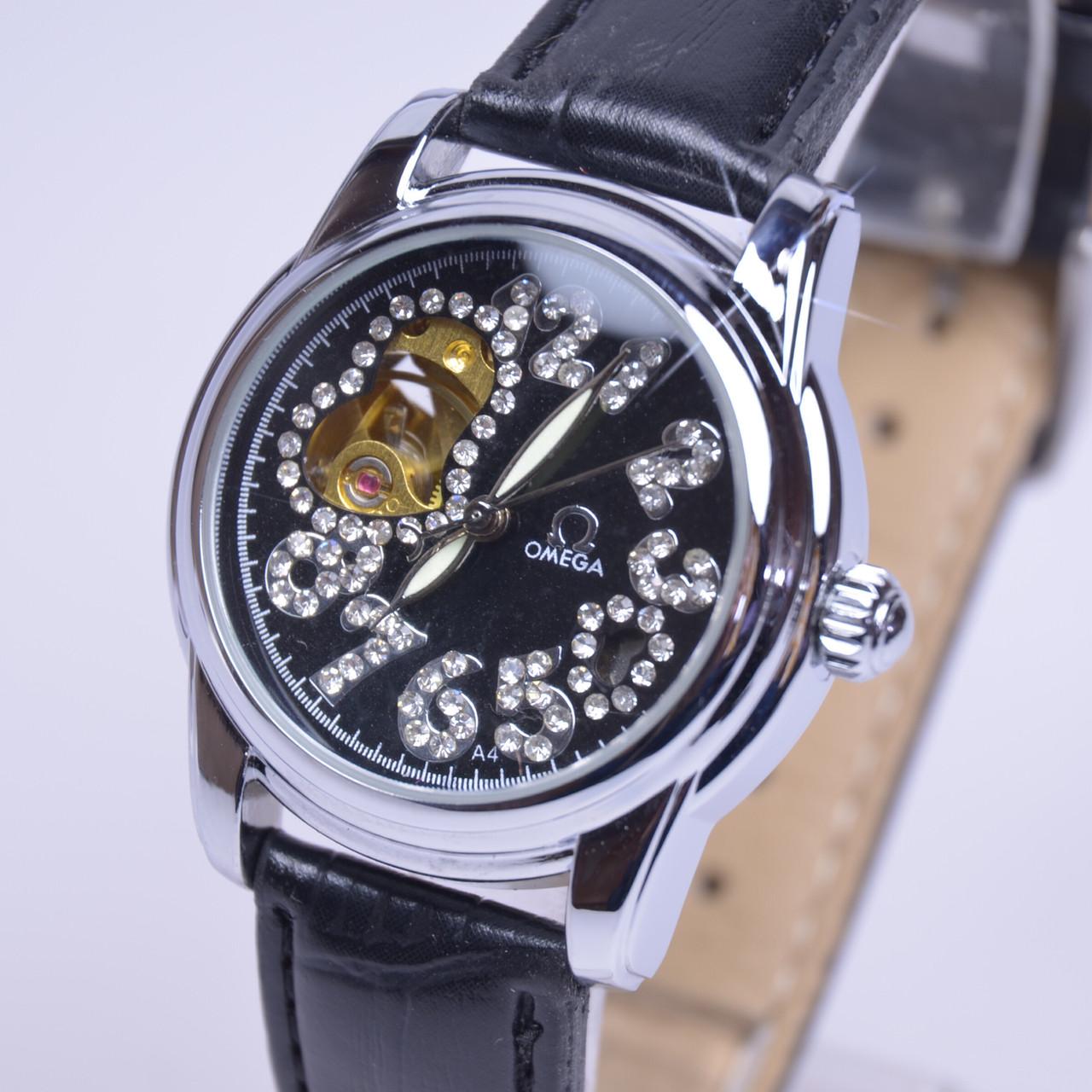 Omega женские часы наручные часы молния с крышкой купить в