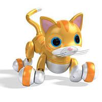 Интерактивный робот-игрушка Кошка Китти Kitty Zoomer золотая Spin Master
