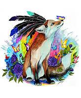 "Картина раскраска по номерам ""Защитник леса"" набор для рисования"