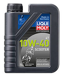 LIQUI MOLY Motorbike Scooter 4T 10W-40   Мінеральне 1л