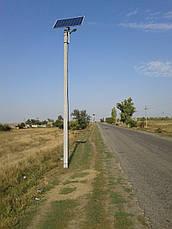 Автономный уличный LED светильник 30 Вт, (лето), фото 3