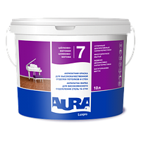 Інтер'єрна фарба Aura Luxpro 7 біла(база А) 10l