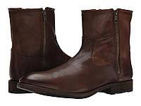 Ботинки/Сапоги (Оригинал) Frye Ethan Double Zip Dark Brown Buffalo Leather