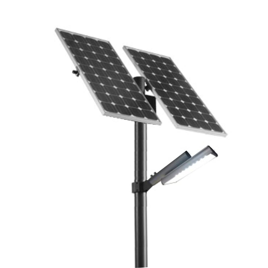 Уличный автономный LED светильник 30 Вт, (зима)