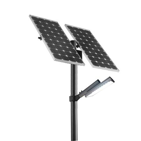 Уличный автономный LED светильник 30 Вт, (зима), фото 2