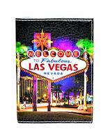 """Обложка на паспорт """"Лас Вегас"""" Las Vegas"""
