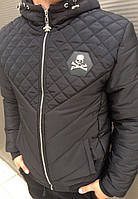 Мужская зимняя куртка Philipp Plein(Филипп Плеин)