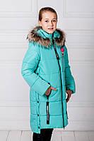 Зимнее пальто для девочки «Ника»