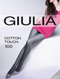 Жіночі колготки з бавовняної нитки з ефектом «меланж» COTTON TOUCH 100